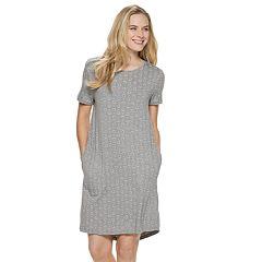 Women s SONOMA Goods for Life™ Keyhole Sleep Shirt d86696631