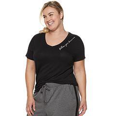 Plus Size SONOMA Goods for Life™ Essential V-Neck Pajama Tee