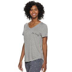 Women's SONOMA Goods for Life™ Essential V-Neck Pajama Tee