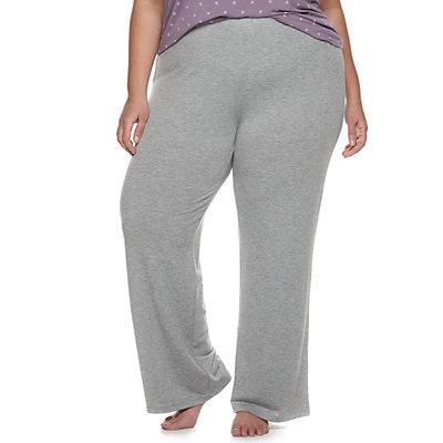 Plus Size SONOMA Goods for Life? Pajama Pants