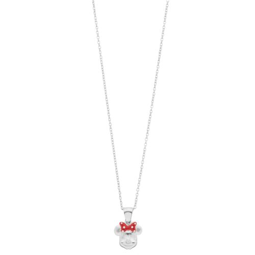Disney's Minnie Mouse Sterling Silver Pendant Necklace by Kohl's