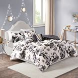 Intelligent Design Renee Floral Print Comforter Set