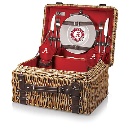 Picnic Time Alabama Crimson Tide Champion Picnic Basket Set