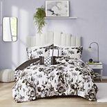 Intelligent Design Renee Floral Print Duvet Cover Set