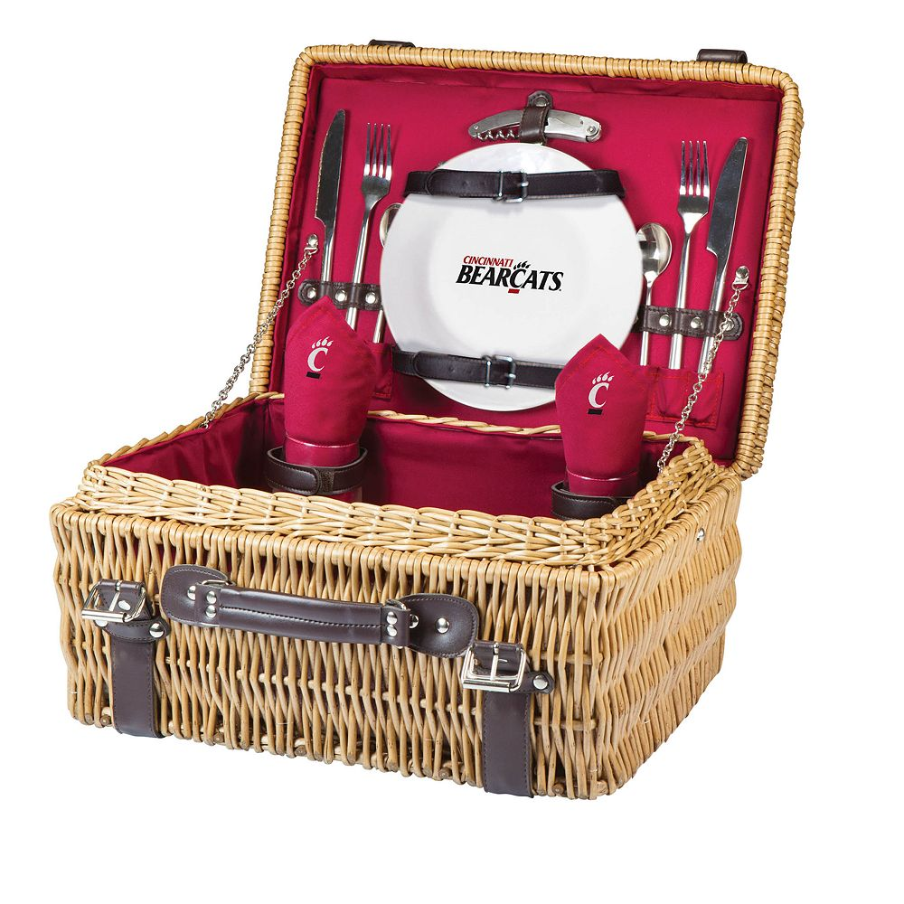 Picnic Time Cincinnati Bearcats Champion Picnic Basket Set