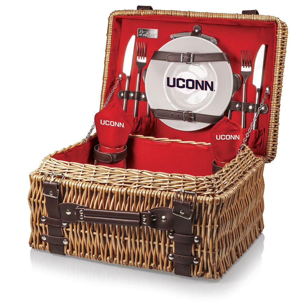 Picnic Time UConn Huskies Champion Picnic Basket Set