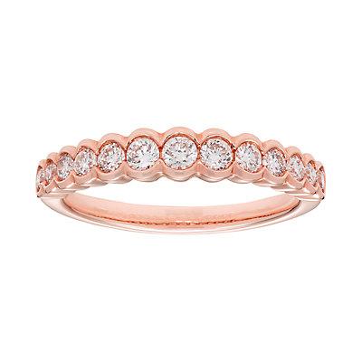 14k Gold 1/2 Carat T.W. IGL Certified Diamond Wedding Ring