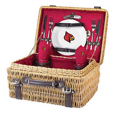 Picnic Time Louisville Cardinals Champion Picnic Basket Set