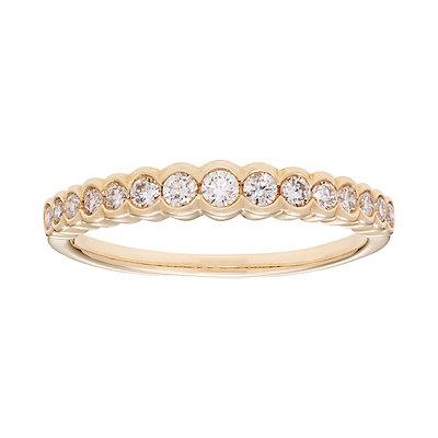 14k Gold 1/4 Carat T.W. IGL Certified Diamond Wedding Ring