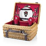 Picnic Time North Carolina State Wolfpack Champion Picnic Basket Set