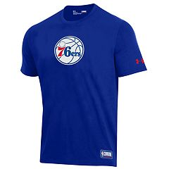 Men's Under Armour Philadelphia 76ers Primary Logo Tee