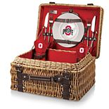 Picnic Time Ohio State Buckeyes Champion Picnic Basket Set