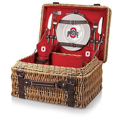 Picnic Time Ohio State Buckeyes Champion Picnic Basket Set