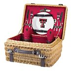 Picnic Time Texas Tech Red Raiders Champion Picnic Basket Set