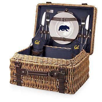 Picnic Time Cal Golden Bears Champion Picnic Basket Set