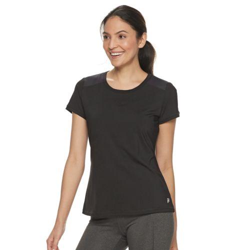 Women's Fila Sport® Lattice Back Tee by Fila Sport