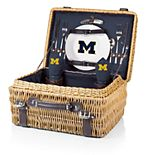 Picnic Time Michigan Wolverines Champion Picnic Basket Set