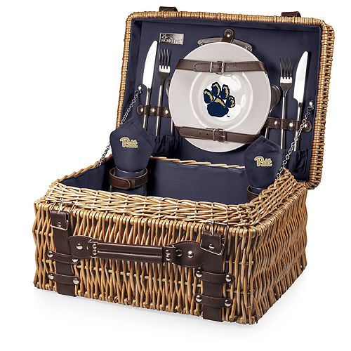 Picnic Time Pitt Panthers Champion Picnic Basket Set