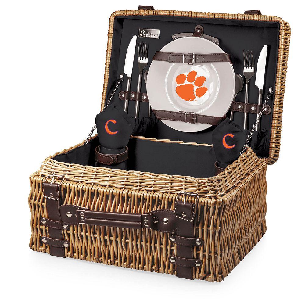 Picnic Time Clemson Tigers Champion Picnic Basket Set