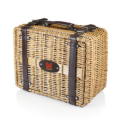 Picnic Time Maryland Terrapins Champion Picnic Basket Set