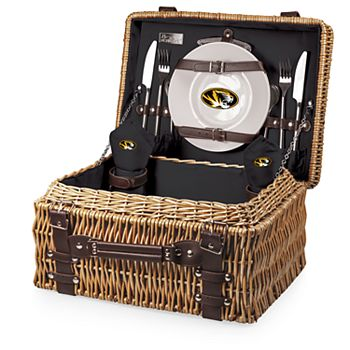 Picnic Time Missouri Tigers Champion Picnic Basket Set