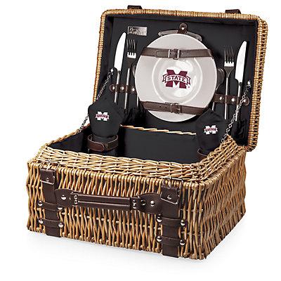 Picnic Time Mississippi State Bulldogs Champion Picnic Basket Set