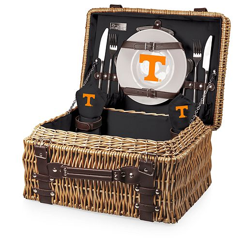 Picnic Time Tennessee Volunteers Champion Picnic Basket Set