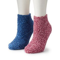 2d6e84a0f Women s Dr. Scholl s 2-Pair Soothing Spa Low-Cut Slipper Socks