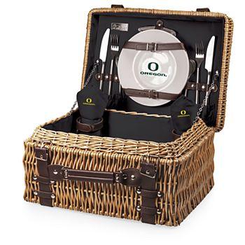 Picnic Time Oregon Ducks Champion Picnic Basket Set