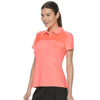 Women's FILA SPORT® Mesh Yoke Golf Tee