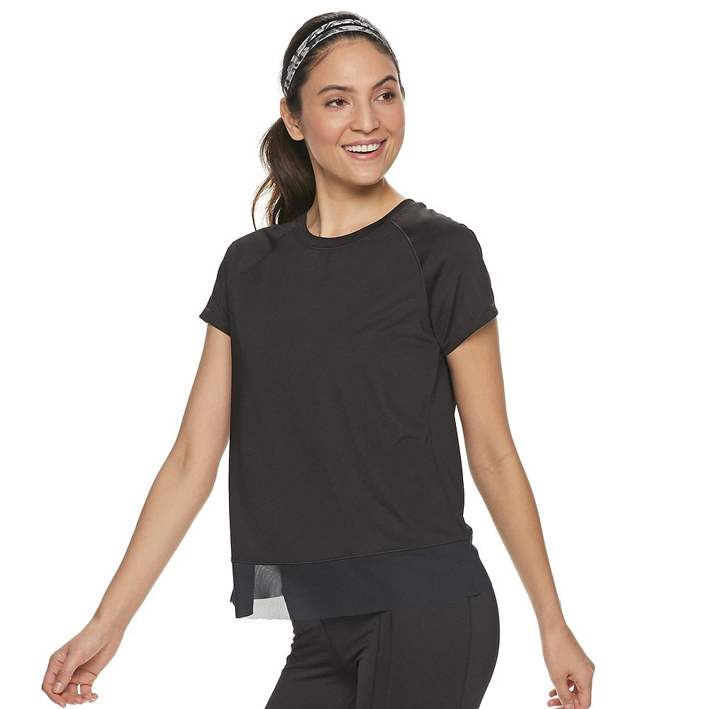 Women's FILA SPORT® Cross Back Raglan Tee