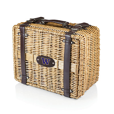 Picnic Time Washington Huskies Champion Picnic Basket Set