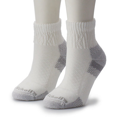 Women's Dr. Scholl's Diabetes & Circulatory Advanced Relief 2-pk. Ankle Socks