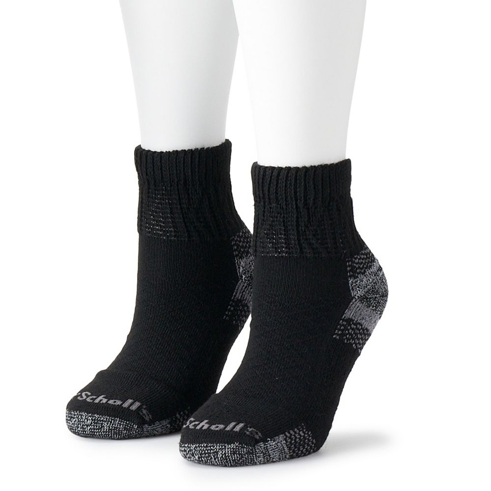 Women's Dr. Scholl's Diabetes & Circulatory Advanced Relief 2-pk. Ankle Socks