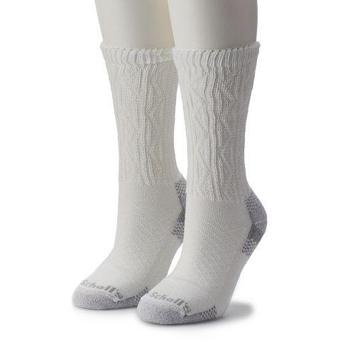 Women's Dr. Scholl's Advanced Relief BlisterGuard 2-pk Crew Socks