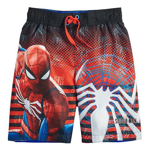 09b669522252d Boys 4-7 Marvel Spider-Man Swim Trunks