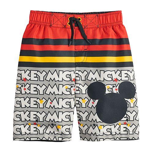 5136e65b40 Disney's Mickey Mouse Boys 4-7 Swim Trunks