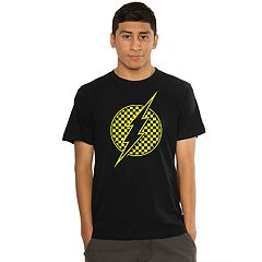 Men's The Flash Checker Logo Tee