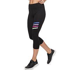 Women's FILA SPORT® Colorful Stripes Midrise Capri Leggings