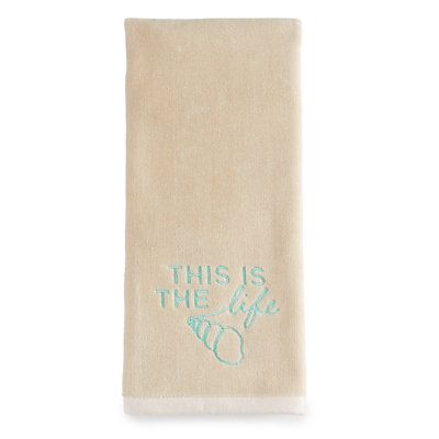 SONOMA Goods for Life? Coastal This Is The Life Hand Towel