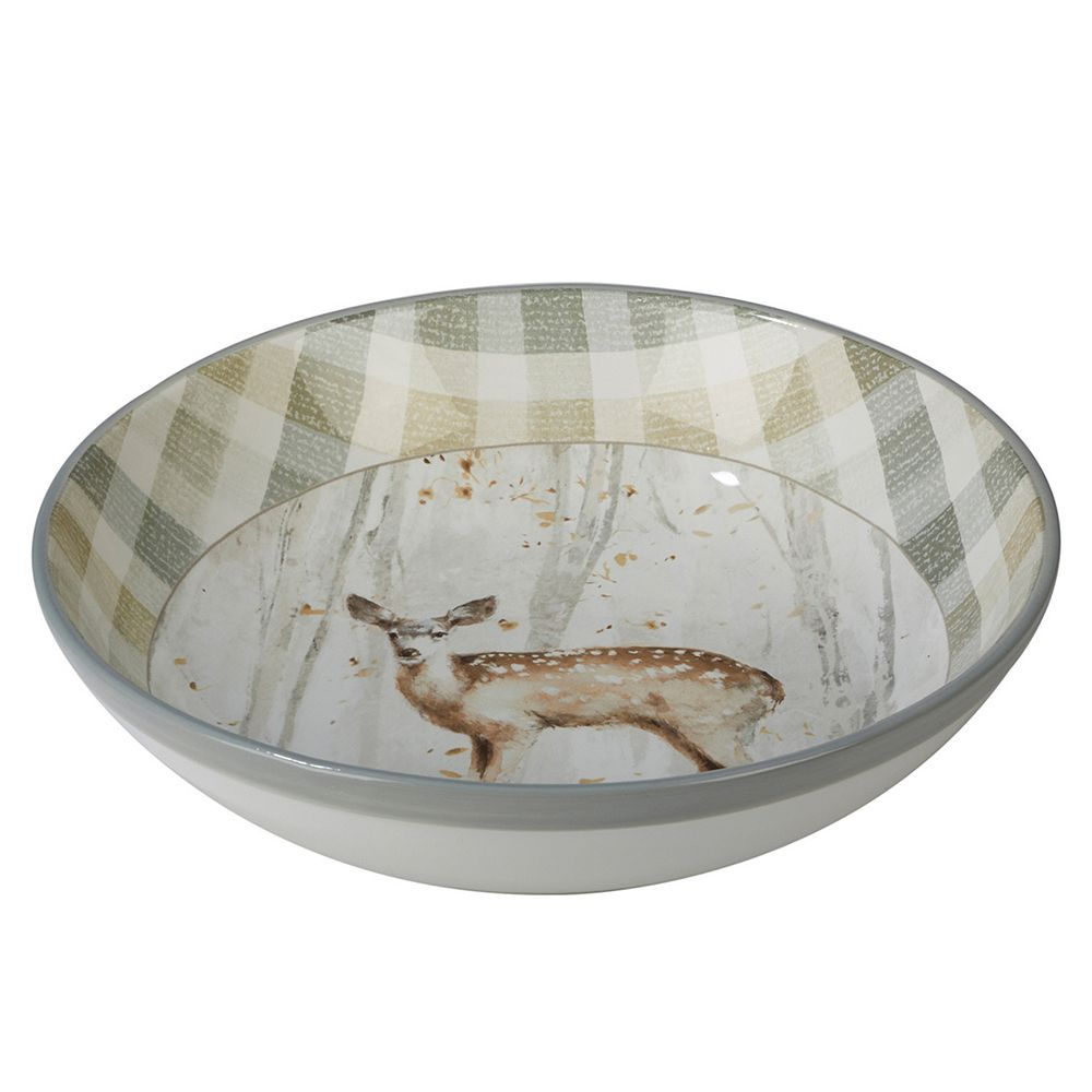 Certified International A Woodland Walk Pasta Serving Bowl