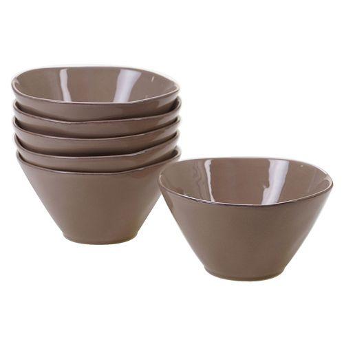 Certified International Harmony 6-piece Ice Cream Bowl Set