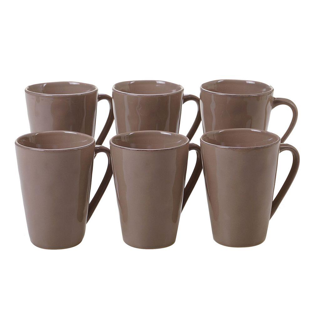 Certified International Harmony 6-piece Mug Set