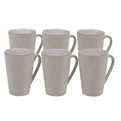 Certified International Harmony 6-piece Mug Set