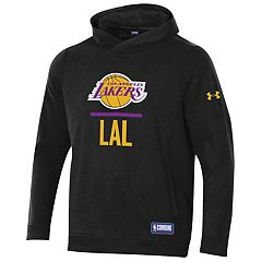 Men's Under Armour Los Angeles Lakers Lock Up Fleece Hoodie