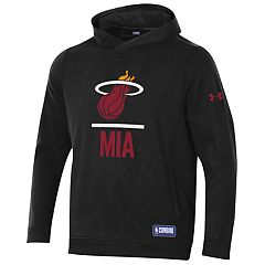 Men's Under Armour Miami Heat Lock Up Fleece Hoodie