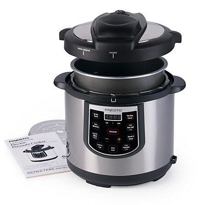 Presto 6-qt. Electric Pressure Cooker Plus