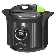Presto Precise 6-qt. Electric Pressure Cooker Plus