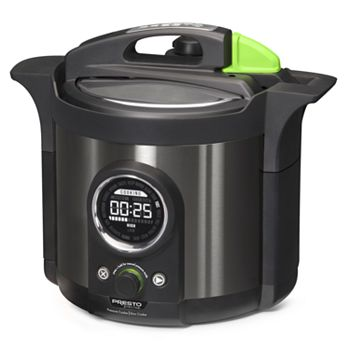 Presto Precise 6-qt. Electric Pressure Cooker Plus