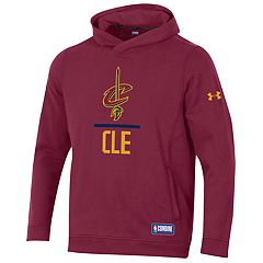Men's Under Armour Cleveland Cavaliers Lock Up Fleece Hoodie